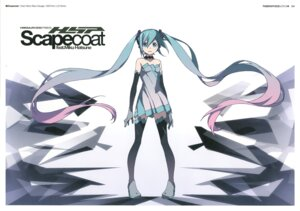 Rating: Safe Score: 40 Tags: dress fishnets hatsune_miku kanzaki_hiro tabgraphics thighhighs vocaloid User: fireattack