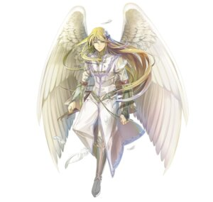 Rating: Questionable Score: 5 Tags: angel bandages fire_emblem fire_emblem:_souen_no_kiseki fire_emblem_heroes nintendo pointy_ears reyson wings yura User: fly24