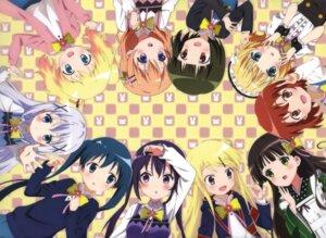 Rating: Safe Score: 39 Tags: alice_cartelet crossover gochuumon_wa_usagi_desu_ka? hoto_cocoa inokuma_youko kafuu_chino kin'iro_mosaic kirima_sharo komichi_aya kujou_karen maid okuda_yousuke oomiya_shinobu seifuku tedeza_rize ueda_kazuyuki ujimatsu_chiya wa_maid waitress User: kiyoe