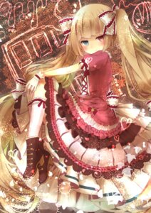 Rating: Safe Score: 34 Tags: dress gothic_lolita heels heterochromia lolita_fashion yumeichigo_alice User: Mr_GT