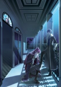Rating: Safe Score: 10 Tags: kaito kamui_gakupo male migiwa_hasu vocaloid User: charunetra