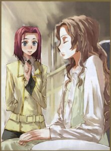 Rating: Safe Score: 7 Tags: bleed_through code_geass kallen_stadtfeld nunnally_lamperouge screening seifuku toi8 User: yumichi-sama