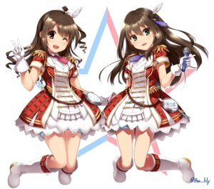 Rating: Safe Score: 45 Tags: paopao shibuya_rin shimamura_uzuki the_idolm@ster the_idolm@ster_cinderella_girls uniform User: fairyren