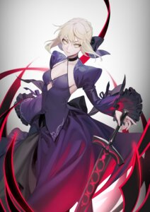 Rating: Questionable Score: 17 Tags: fate/grand_order no_bra ohisashiburi saber saber_alter sword User: Dreista