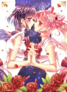Rating: Safe Score: 8 Tags: chibiusa sailor_moon symmetrical_docking tomoe_hotaru touki_matsuri yuri User: charunetra