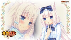Rating: Safe Score: 68 Tags: animal_ears neko_para nekomimi sayori vanilla wallpaper User: aguywithaname