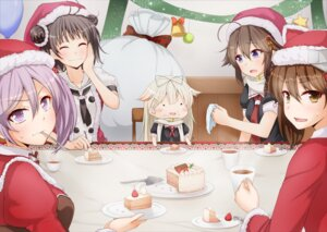 Rating: Safe Score: 17 Tags: anti_(untea9) chibi christmas kantai_collection naka_(kancolle) ryuujou_(kancolle) sazanami_(kancolle) shigure_(kancolle) yuudachi_(kancolle) User: Mr_GT