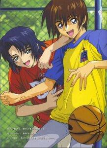Rating: Safe Score: 1 Tags: athrun_zala basketball gundam gundam_seed hirai_hisashi kira_yamato male User: yumesangai