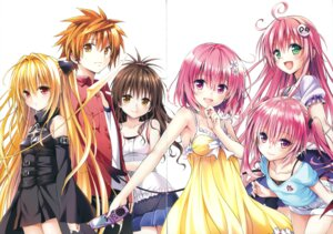 Rating: Questionable Score: 40 Tags: crease dress golden_darkness lala_satalin_deviluke momo_velia_deviluke nana_asta_deviluke peke tail to_love_ru to_love_ru_darkness yabuki_kentarou yuuki_mikan yuuki_rito User: Twinsenzw