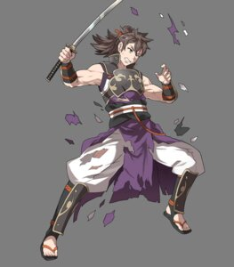 Rating: Questionable Score: 1 Tags: fire_emblem fire_emblem_heroes fire_emblem_if hinata_(fire_emblem) nintendo sword torn_clothes transparent_png ueda_yumehito User: Radioactive