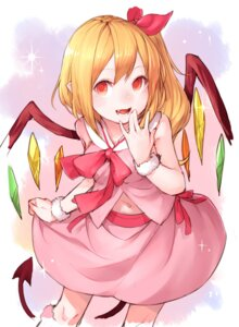 Rating: Safe Score: 24 Tags: dress flandre_scarlet junwool pointy_ears touhou wings User: Mr_GT