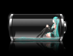 Rating: Safe Score: 68 Tags: hatsune_miku nanaku_teiru thighhighs vocaloid User: demon2