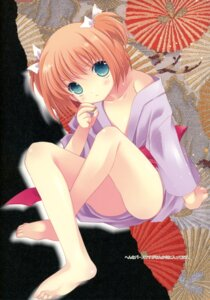 Rating: Questionable Score: 34 Tags: hakkaya kataoka_yuuki loli saki tokumi_yuiko yukata User: petopeto