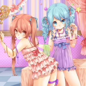 Rating: Questionable Score: 31 Tags: aihara_kaori dress lingerie momo_bako pantsu rojiko User: charunetra