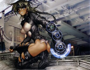 Rating: Questionable Score: 21 Tags: ass shirow_masamune thighhighs thong User: Wraith