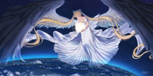 Rating: Safe Score: 16 Tags: cleavage dress princess_serenity sailor_moon tagme wings User: BattlequeenYume