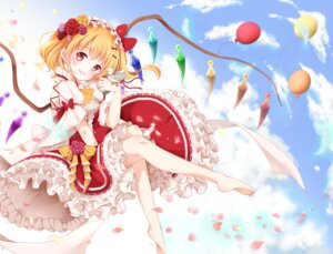 Rating: Safe Score: 33 Tags: dress feet flandre_scarlet mumu touhou wings User: Mr_GT