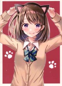 Rating: Safe Score: 38 Tags: animal_ears hiyoko_sabure nekomimi sakura_hiyori seifuku sweater User: kiyoe