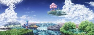 Rating: Safe Score: 33 Tags: cirno landscape same_2009 touhou wings User: charunetra