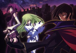 Rating: Safe Score: 15 Tags: c.c. chiba_yuriko code_geass kallen_stadtfeld lelouch_lamperouge User: Radioactive
