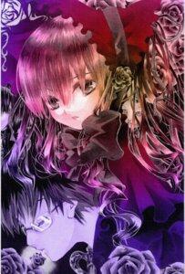 Rating: Safe Score: 2 Tags: megane paper_texture rozen_maiden sakurada_jun shinku User: charunetra