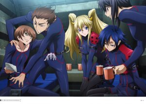 Rating: Safe Score: 9 Tags: akito_the_exiled bodysuit code_geass hyuuga_akito kousaka_ayano layla_markale naruse_yukiya sayama_ryou User: drop