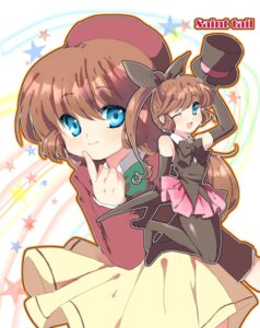 Rating: Safe Score: 5 Tags: haneoka_meimi kaitou_saint_tail pantyhose seifuku User: charunetra