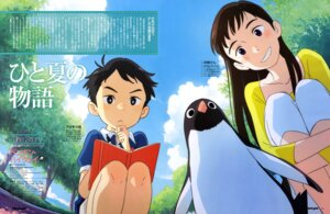 Rating: Safe Score: 5 Tags: arai_youjirou penguin penguin_highway User: drop