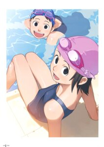 Rating: Safe Score: 5 Tags: school_swimsuit swimsuits takamichi User: Radioactive