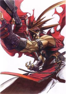Rating: Safe Score: 10 Tags: guilty_gear male sol_badguy weapon User: Radioactive