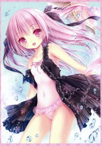 Rating: Questionable Score: 104 Tags: dress loli open_shirt see_through swimsuits tinkle User: RICO740