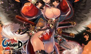 Rating: Questionable Score: 51 Tags: cleavage no_bra nopan qbspdl sword unleashed weapon wings User: blooregardo