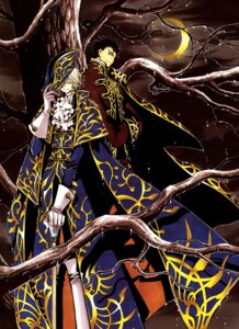 Rating: Safe Score: 3 Tags: clamp fai_d._flourite kurogane male tsubasa_reservoir_chronicle User: Share