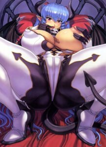 Rating: Questionable Score: 55 Tags: breast_grab breasts comic_unreal devil erect_nipples heels mogudan nipples undressing User: demonbane1349