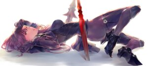 Rating: Safe Score: 47 Tags: bodysuit fate/grand_order heels scathach_(fate/grand_order) tagme weapon User: NotRadioactiveHonest