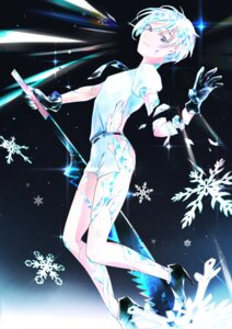 Rating: Safe Score: 6 Tags: antarcticite guro heels houseki_no_kuni torn_clothes weapon ye_weiyang_mio User: charunetra