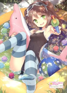 Rating: Questionable Score: 79 Tags: cuteg feet swimsuits thighhighs wet User: fireattack