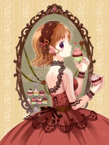 Rating: Safe Score: 21 Tags: dress fishnets takeda_mika User: blooregardo