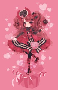 Rating: Safe Score: 16 Tags: dress kabasawa_kina lolita_fashion pantyhose valentine User: Radioactive
