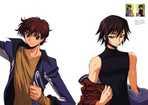 Rating: Safe Score: 6 Tags: code_geass kimura_takahiro kururugi_suzaku lelouch_lamperouge male User: Aurelia