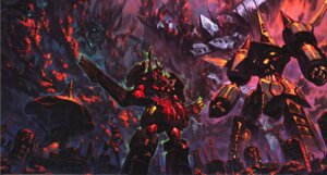 Rating: Safe Score: 15 Tags: mecha tengen_toppa_gurren_lagann yoshinari_you User: ViBaYo