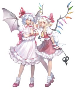 Rating: Safe Score: 9 Tags: flandre_scarlet matsukichiii remilia_scarlet touhou User: Radioactive