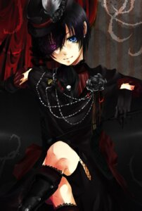 Rating: Safe Score: 23 Tags: ciel_phantomhive futarou kuroshitsuji male User: charunetra