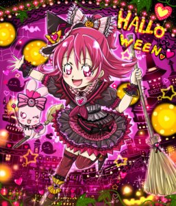 Rating: Questionable Score: 7 Tags: aida_mana chibi dokidoki!_precure halloween pretty_cure sharuru_(precure) User: mioxnorman