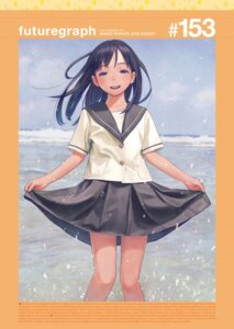 Rating: Safe Score: 34 Tags: digital_version range_murata seifuku skirt_lift User: nphuongsun93