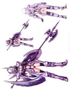 Rating: Safe Score: 15 Tags: armor ass character_design cleavage yamashita_shunya User: Radioactive