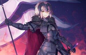 Rating: Safe Score: 31 Tags: armor fate/grand_order hopepe jeanne_d'arc jeanne_d'arc_(alter)_(fate) sword User: Mr_GT
