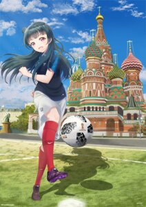 Rating: Safe Score: 26 Tags: love_live!_sunshine!! soccer tank_ryousaku tsushima_yoshiko uniform User: Spidey