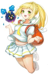 Rating: Questionable Score: 24 Tags: hukahire0120 lillie_(pokemon) pokemon shirt_lift skirt_lift User: Dreista