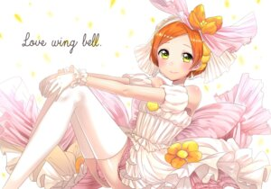 Rating: Safe Score: 24 Tags: dress hoshizora_rin love_live! thighhighs umeno_tarou wedding_dress User: Mr_GT